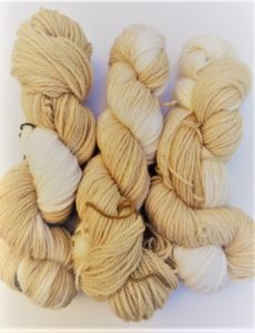 natural wool dyeing