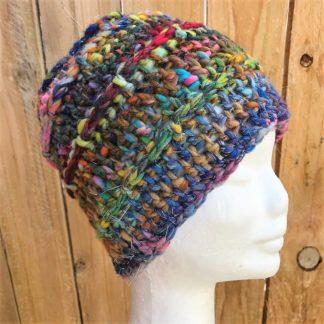 hat, crochet, handmade, rainbow